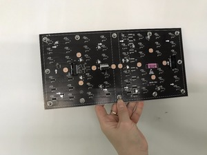 Image 4 - HD soft led panel P2.5 flexible led module P1.25p2.48p3.91 transparent led screen