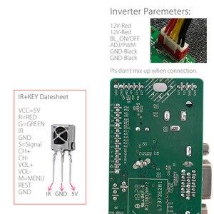 Image 4 - M53V5.1 LCD universale LED TV Controller Driver Board Kit TV/PC/VGA/HDMI/USB interfaccia matrice T56 supporto russo V53RUUL Z1