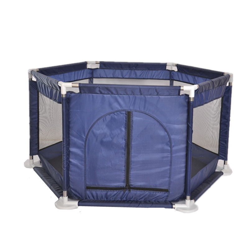 New Raised Net Yarn Hexagonal Ball Pool Play Fence Playyard Kids Toy Tent Indoor Outdoor Baby
