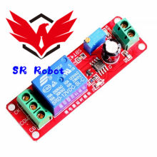 C 12V Delay Relay Shield Module NE555 Timer Switch Adjustable Module 0 To 10 Second 0~10S Car Oscillator Power Robot Kit(China)