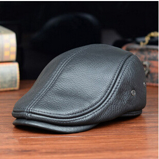 Men's Outdoor Leather Hat...