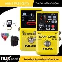 NUX Loop Core / Octave Loop Guitar Effect Pedal Looper Pedal Guitar Effect