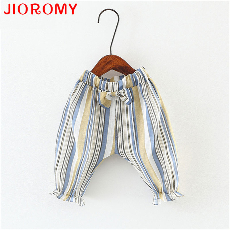 JIOROMY New Childrens Wear In Summer Han Edition of The Girls Hot Style Bar Anti-mosquito Pants Thin Baby Panties Wholesale