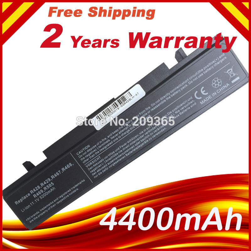 Laptop Battery For SAMSUNG R540 NP-R540 NT-R540 RC408 RC410 RC510 RC512 RC518 RC520 RC530 RC710 RC720 RC730 RF410 RF510 NB-RF510