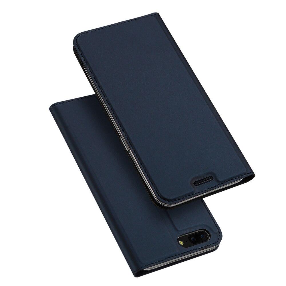 Pour OnePlus 5 T Cas De Luxe PU Cuir Flip Couverture Pour OnePlus 5 Un Plus 5 5 T Téléphone Cas