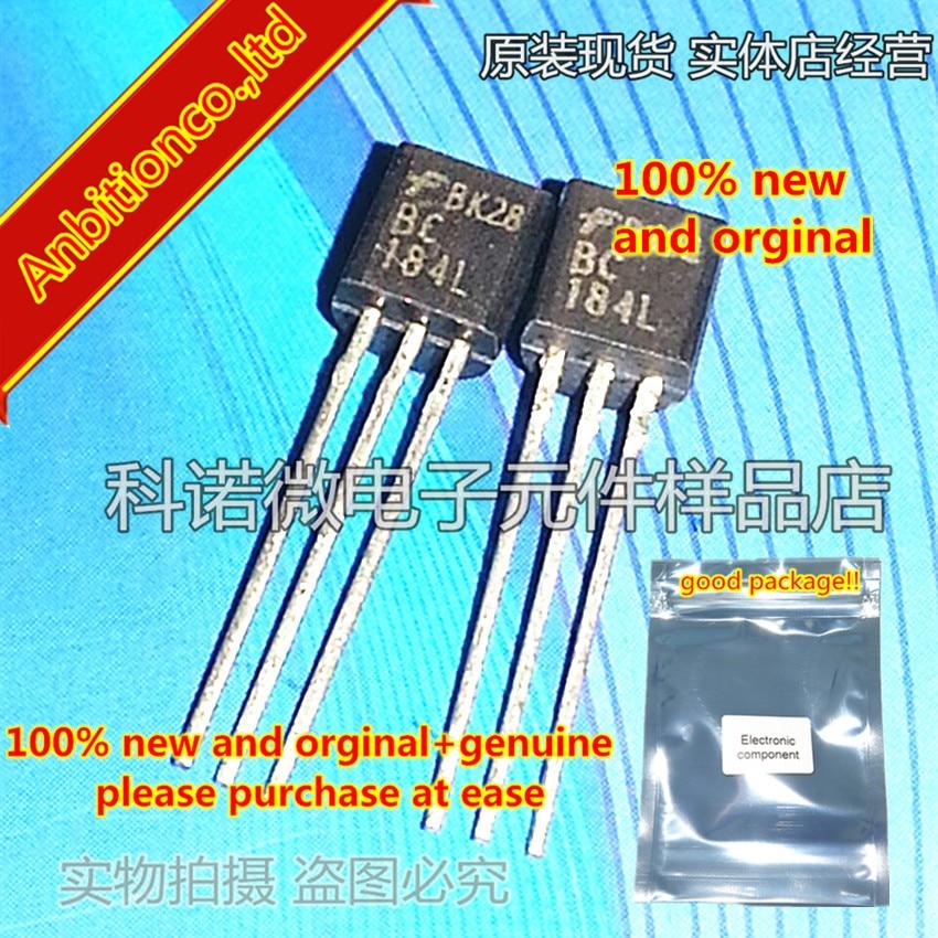 10pcs 100% New And Orginal  BC184L TO-92 BC184    In Stock