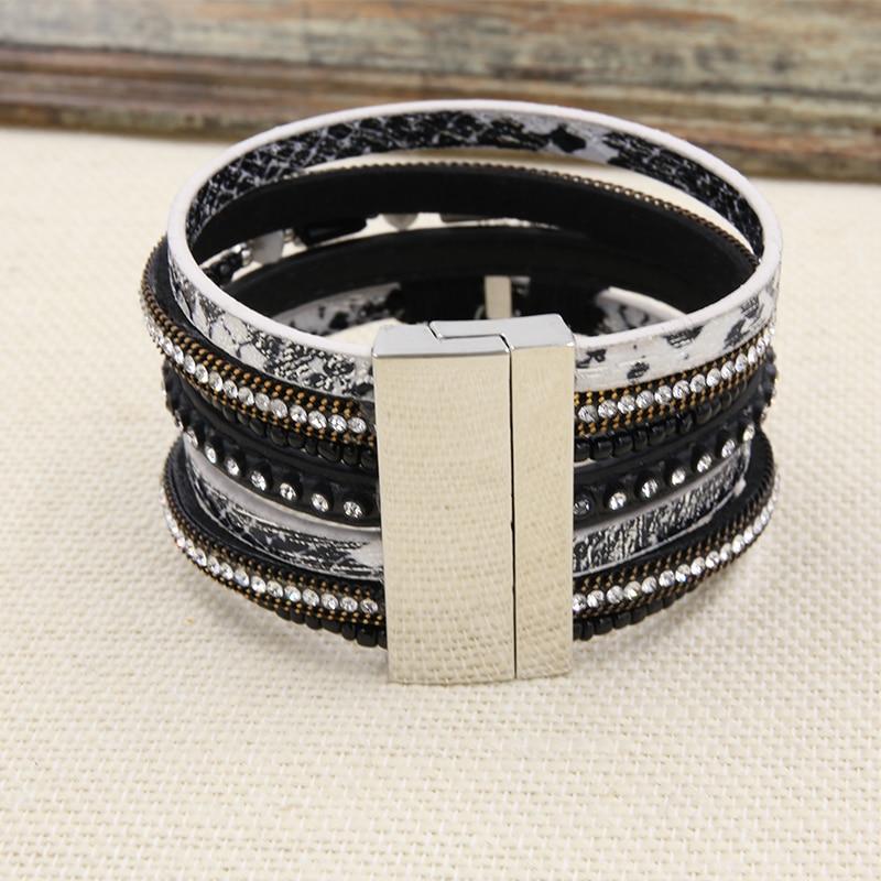 Βραχιόλι PU Δερμάτινα βραχιόλια & Bangles - Κοσμήματα μόδας - Φωτογραφία 4