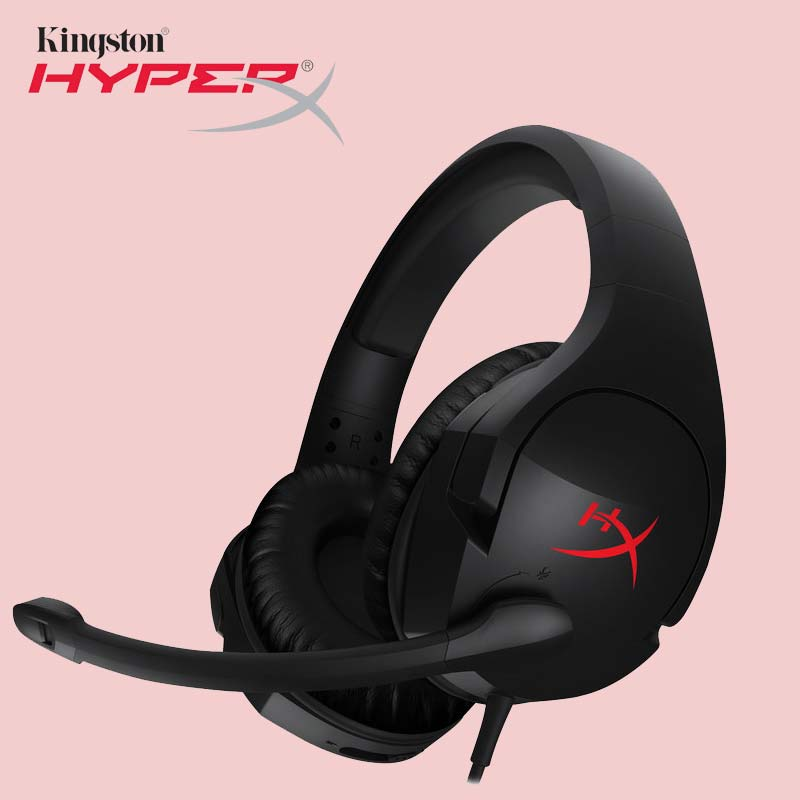 Kingston наушники HyperX Cloud Stinger Auriculares наушников Steelserie игровая гарнитура с микрофоном Микрофон для компьютера PS4 Xbox