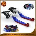 Ajustável folding extensível embreagem do freio alavanca para honda vfr800 vfr 800 1998 99 2001 corrida de moto frete grátis