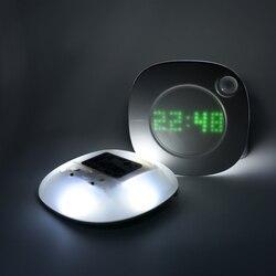 Lampka nocna lampka nocna czujnik ruchu lampka nocna PIR inteligentny LED ruch ciała ludzkiego lampa indukcyjna oświetlenie energooszczędne AAA