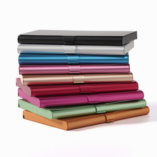 Creative Business Credit Card Holder Metal Dedicated Antimagnetic Soft  Leather Box Cover Multi Card Case Tarjetero Mujer