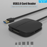 Vention Multi Function 5 In 1 USB 3 0 Card Reader High Speed All In 1