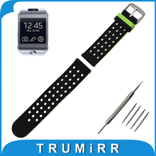 22mm Silicone Rubber Watch Band Double Side Wearing for Samsung Galaxy Gear 2 R380 Neo R381 Live R382 Strap Wrist Belt Bracelet