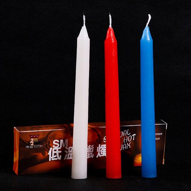 Секс с восковыми свечами