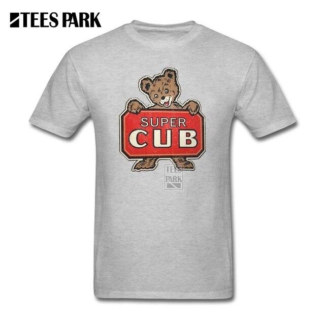 e809ca0a4 Camisetas baratas t Súper Cachorro de Oso Lindo Hombre Algodón Camiseta  Popular Homme Para Hombre Camisas