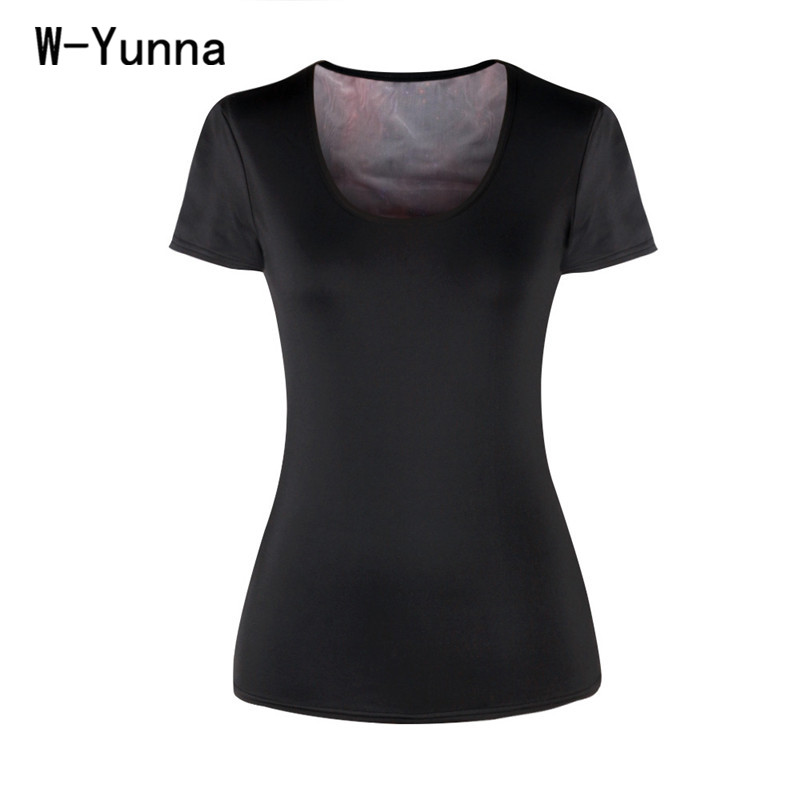 W-Yunna New Summer Black Galaxy Print 3D T shirt Women O-neck Sexy Slim Workout Tops Runs Sporting Women Tshirt Hollow out Tees