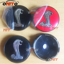 100PCS 56mm 60mm Snake Sticker Wheel Dust-proof emblem covers label car styling Wheel Center Hub Caps auto accessories