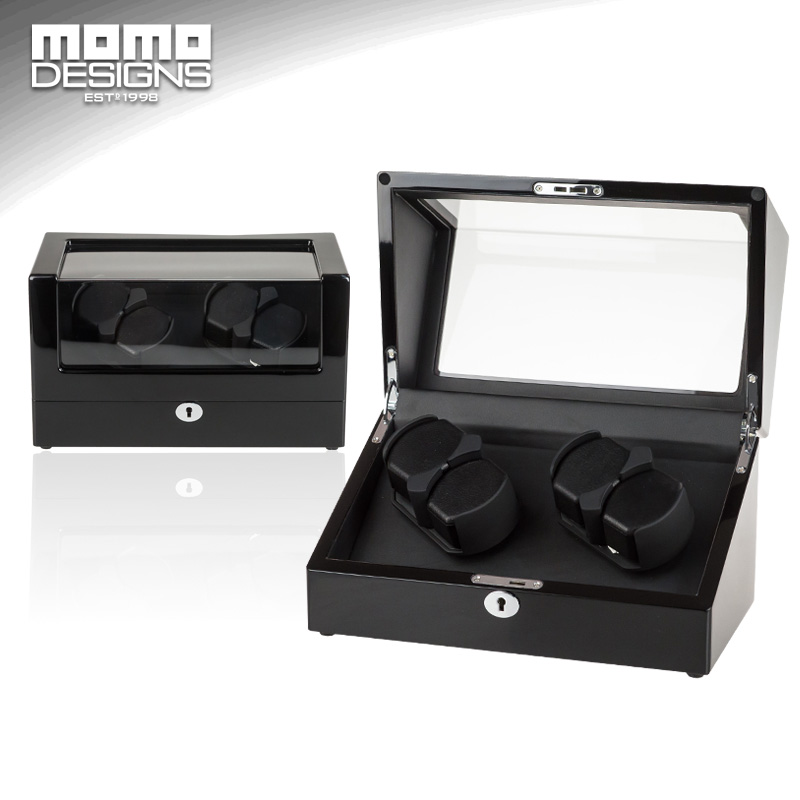 Watch winder 4 Automatic watches Wooden string winder hose winder Japan MABUCHI motor core reel Winder Watch storage box ultra luxury 2 3 5 modes german motor watch winder white color wooden black pu leater inside automatic watch winder
