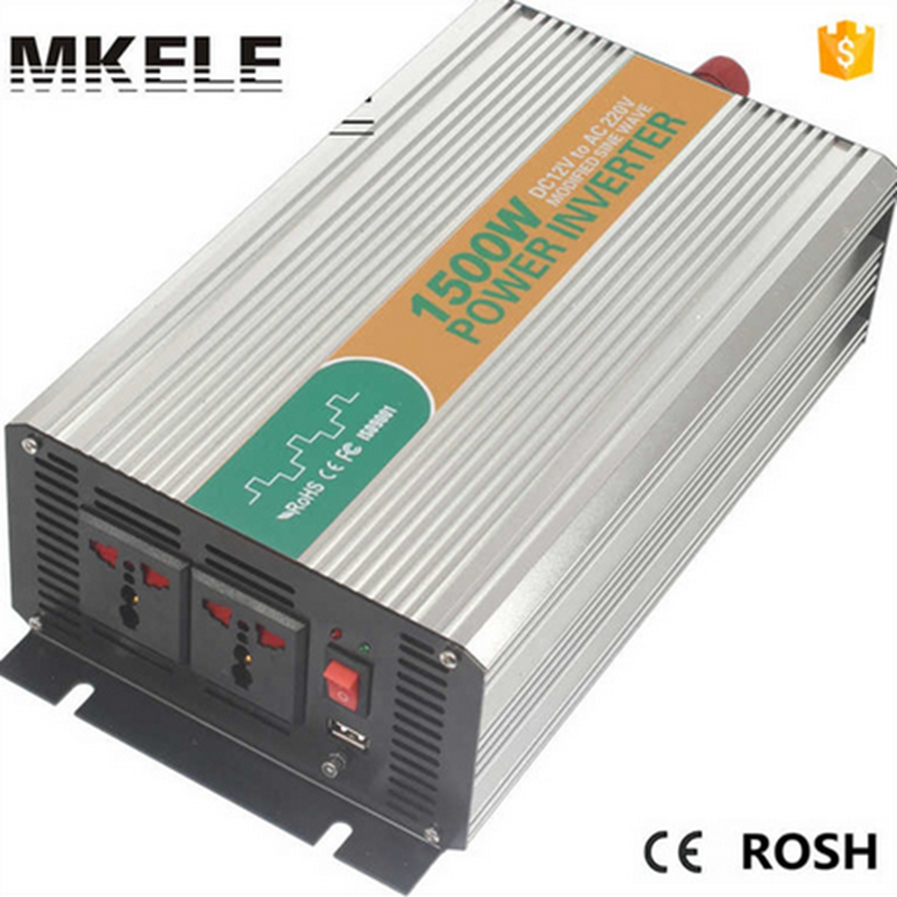MKM1500-122G modified sine wave tronic power inverter 12v 220v 1500w inverter spare parts for home application made in china