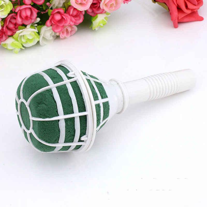 6 個 DIY クラフト用品発泡結婚式パーティーマリアージュ装飾花ホルダーウェディングブーケ花装飾