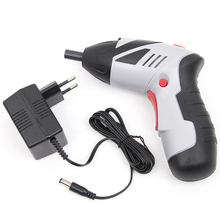 4.8V Cordless Portable Screwdriver Rechargeable Electric Drill Parafusadeira Furadeira Power Tools