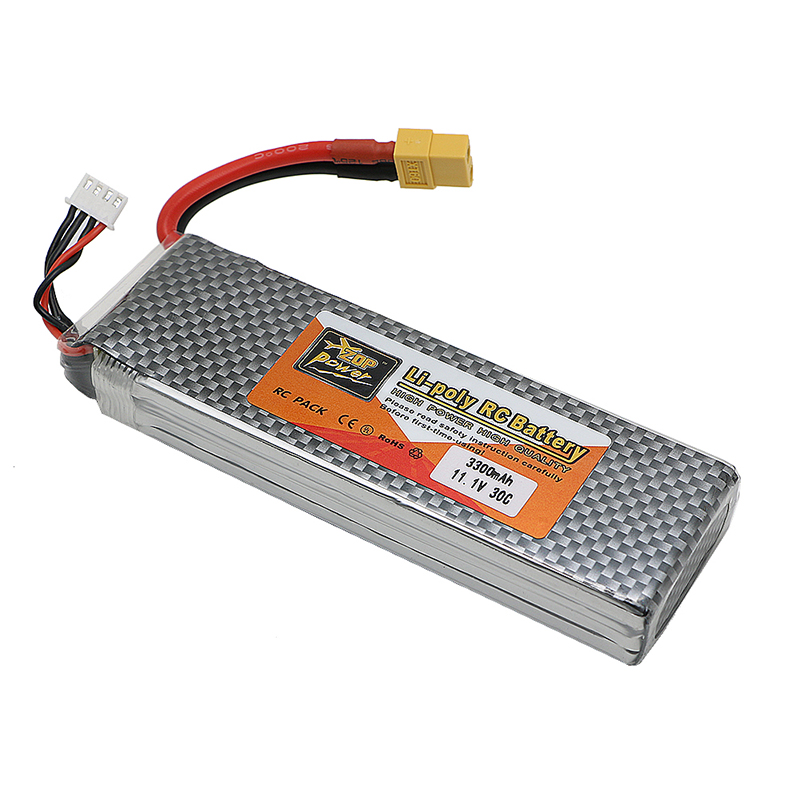 3s lipo battery 11.V 3300mah 30C For Quadcopters Helicopters RC Cars Boats High Rate batteria lipo car parts
