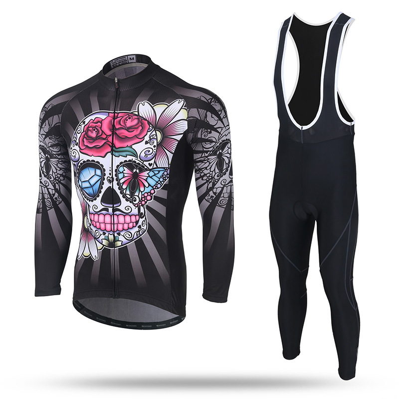 XINTOWN Ropa Ciclismo Mujer Long Sleeve Cycling Jacket + Bib Short Winter Male Quick Dry Pro Jersey Sets Ropa Ciclismo Clothing 2015 monton ropa ciclismo mujer luoli 5 203