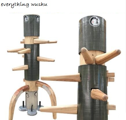 Wing Chun Wooden Dummy Plane White Color