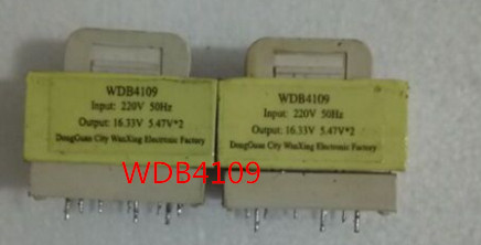 Free Shipping  Microwave Oven Transformer WDB4109 16.33V 5.47*2