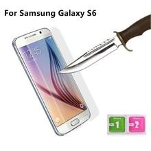 1 шт. высококачественное закаленное стекло для samsung Galaxy S6 G9200 G920F G9208 Защитная пленка для экрана