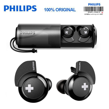 Original Philips Wireless Sport Headset SHB4385 with Bluetooth 4.1 Lithium polymer Volume Control for Galaxy Note 8 S9 S9 Plus фото