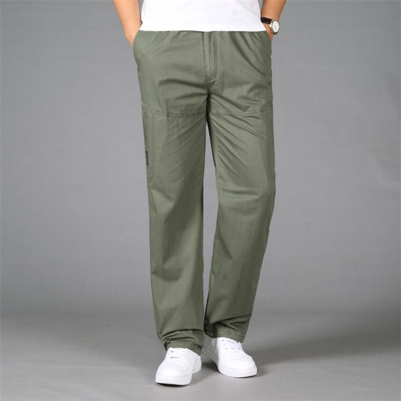 Army Military Cargo Pants Men Tactical Combat Baggy Pants Casual Cotton Trousers Overalls Male Work Pants Joggers Plus Size 5XL