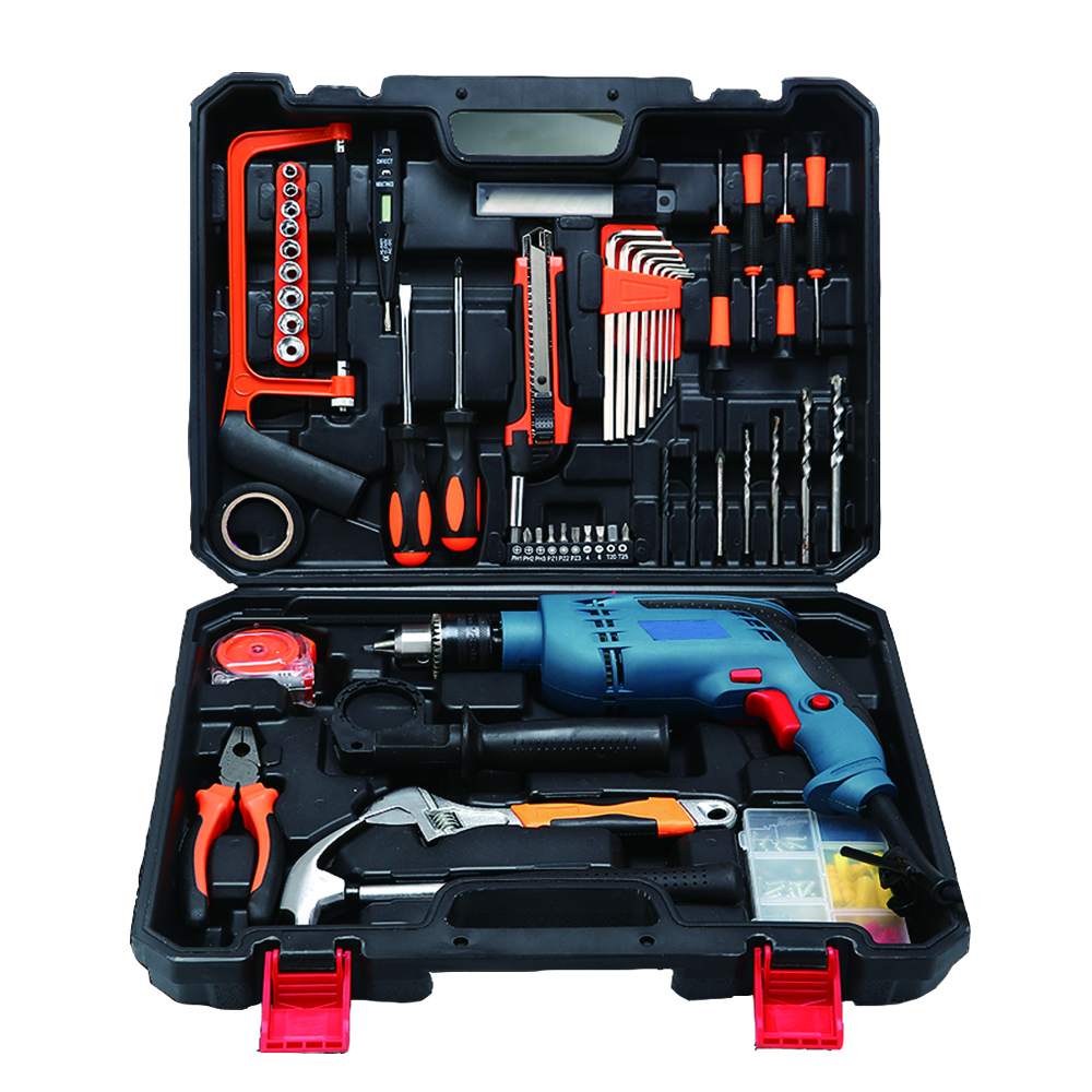 Household Electric Drill Electric Hand Tool Kit Hardware Electrician ...