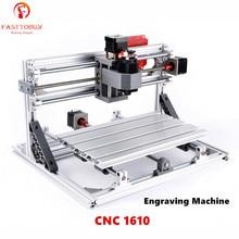 CNC Laser Engraving Machine CNC1610 110-240VAC 160*100*40mm 9000rpm for Plastics/Wood/Acrylic/PVC/PCB Mini CNC Engraving Machine