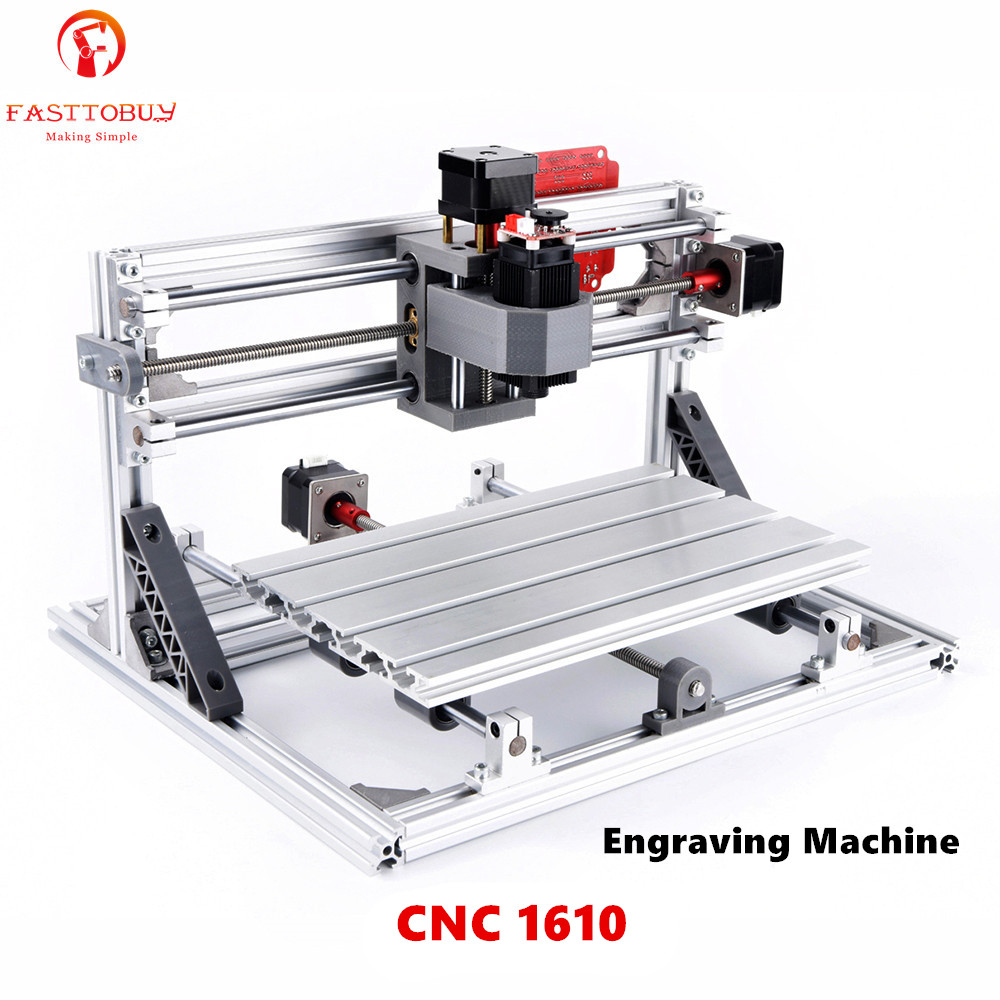 CNC Machine de gravure Laser CNC 1610 110-240VAC 160*100*40mm 9000 tr/min pour plastique/bois/acrylique/PVC/PCB Mini Machine de gravure de CNCCNC Machine de gravure Laser CNC 1610 110-240VAC 160*100*40mm 9000 tr/min pour plastique/bois/acrylique/PVC/PCB Mini Machine de gravure de CNC