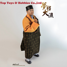For collection 1/6 Male doll Shaolin Temple Abbot Wet Dream Master Head Clothes Model for 12''male Body Figure Accessory цена