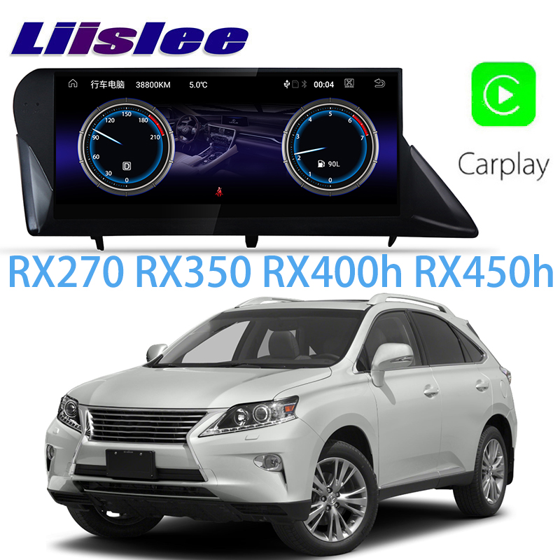 LiisLee Car Multimedia GPS Audio Radio Stereo For Lexus RX RX270 RX350 RX400h RX450h 2008~2015 Original Style Navigation NAVI cha for lexus 2009 up rx270 rx300 rx350 rx450h led tail lamp rear light