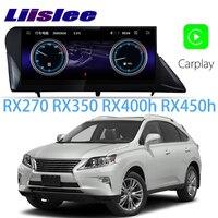 LiisLee Car Multimedia GPS Audio Radio Stereo For Lexus RX RX270 RX350 RX400h RX450h 2008~2015 Original Style Navigation NAVI