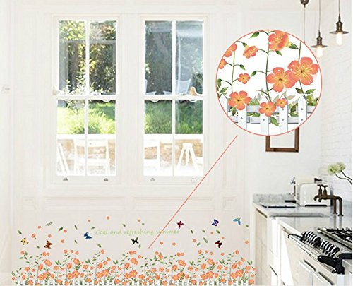 6 Eco Friendly Diy Homes Built For 20k Or Less: Easy Style Eco Friendly And Fashion Flowers Fence Skirting