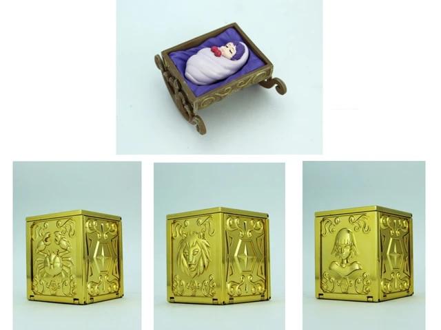 LC Saint Seiya Myth Pandora Box Vol.2 EX Leo ,Cancer and Virgo + Baby  Athena Figure