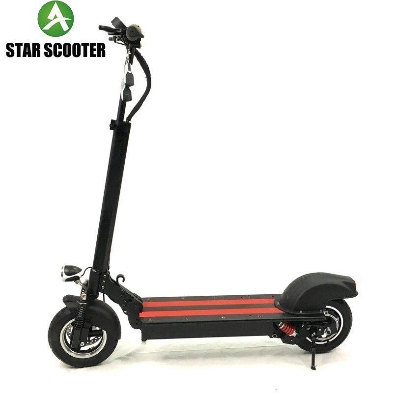 SCOOTER ESTRELA 2019 mini versão 48 4 à prova d' água pro scooter elétrico poderoso V 16AH e Panasonic bateria forte poder scooters