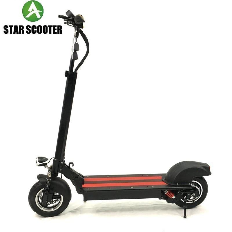 STELLA di SCOOTER 2019 mini 4 pro impermeabile scooter elettrico potente versione 48V 16AH e Panasonic batteria forte potere scooter