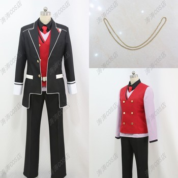 DIABOLIK LOVERS Cosplay Costume Sakamaki Syuu Free shipping Customize