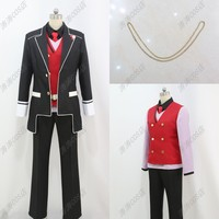 DIABOLIK LOVERS Cosplay Costume Sakamaki Syuu Free shipping Customize
