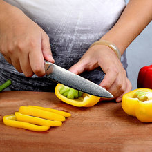 Damascus Kitchen Knife – Sunnecko 5″ Utility Knife