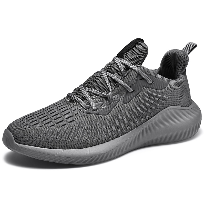 shoes casual mens Men Sneakers Large Size Flying Woven Shoes 39 47 Mesh Running Lightweight Breathable Walking Sport in Men 39 s Casual Shoes from Shoes