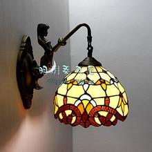 Мода русалка бра ofhead зеркало в стиле барокко свет телевизор фоне стены лампы