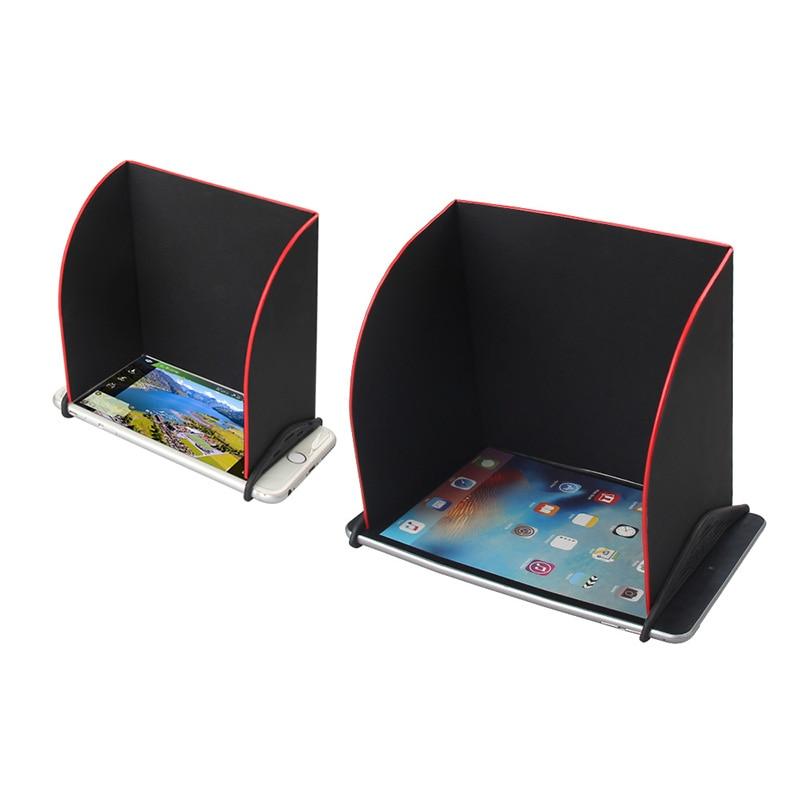 5.5''/7.9'' Phone Tablet Sunshade Sun Shield Hood For DJI Spark/Mavic Air Hood/Mavic Pro Phantom 4 Pro Remote Controller Cover
