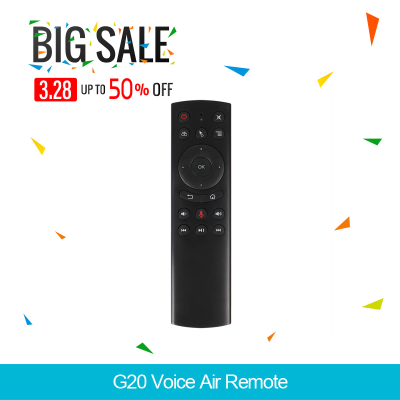 G20 Voice Control 2,4G Wireless G20S Air Maus Tastatur Motion Sensing Mini Fernbedienung Für Android TV Box pk w1 luft maus