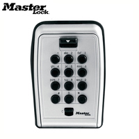 Master Lock Key Safe Box Metal Password Locker Wall Mount Combination Code Keys Keepr Storage Box For Home Company Factory Use